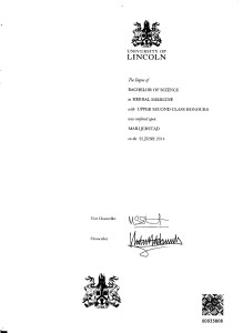 Certificate BSc (2)